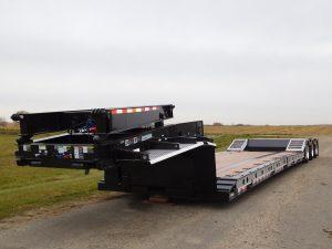 hydraulic detach trailer